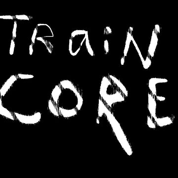Fashionable Traincore Logo Clothing by traincore