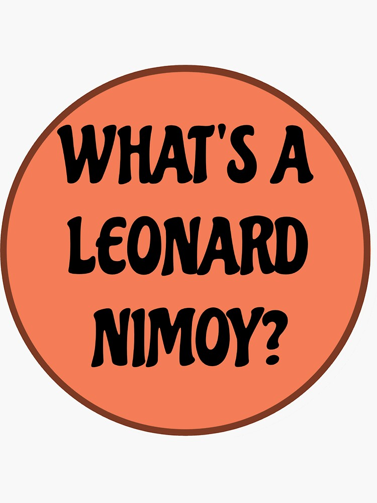 Was ist ein Leonard Nimoy? von majikcalmiss