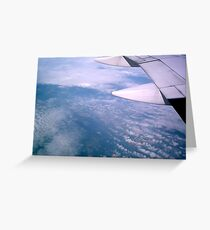 Flight Through the Sky Greeting Card