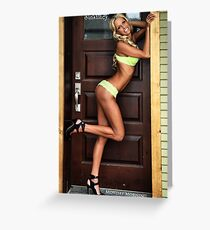 Doorstop Greeting Card
