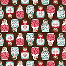 Russian Dolls by Saranet