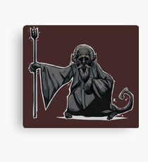 Monkey Wizard Canvas Print