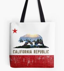 Shining Down On The California Republic Tote Bag