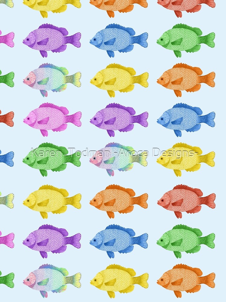 Peces multicolores de KTodman
