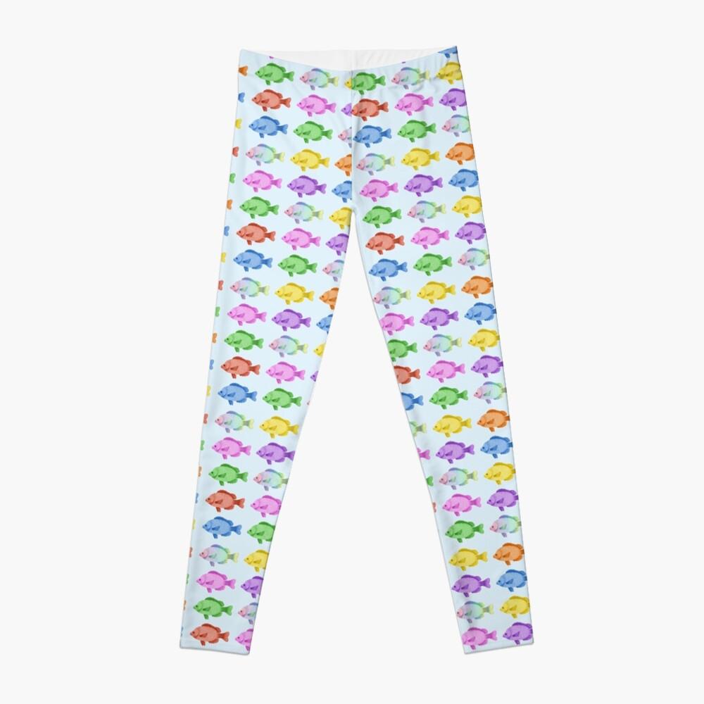 Peces multicolores Leggings