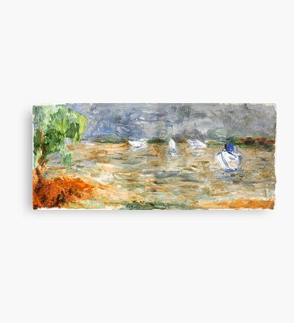 Noosa River before the storm. Metal Print