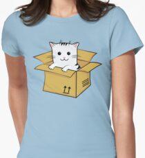 Kawaii Cat In A Box T Shirt T-Shirt