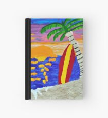 Surfer Sunset Hardcover Journal