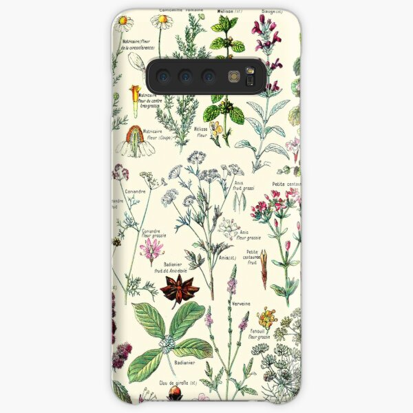 Vintage Digestive Plants Larousse Print Adolphe Millot Samsung Galaxy Snap Case