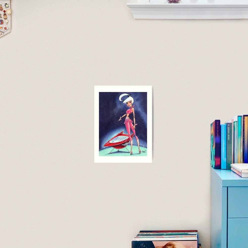 Judy Jetson Art Print