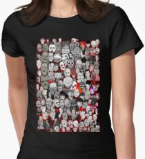 Titans of Horror Women's Fitted T-Shirt