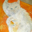 My cat Bella by Stella  Shube As