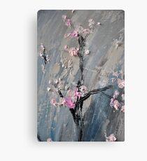 Tree in bloom zoomed part of the Gate Metal Print