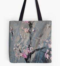 Tree in bloom zoomed part of the Gate Tote Bag