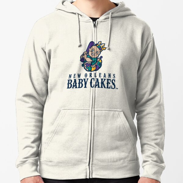 New Orleans Baby Cakes Zipped Hoodie