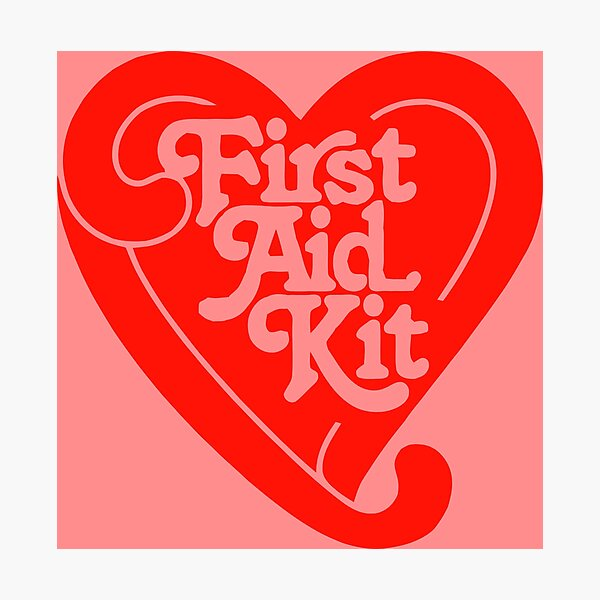First Aid Kit Folk duo Photographic Print