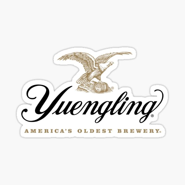 Yuengling Lager American Brewery Sticker
