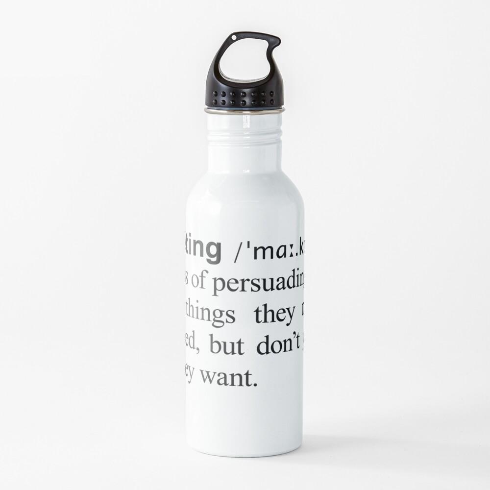 Marketing Water Bottle
