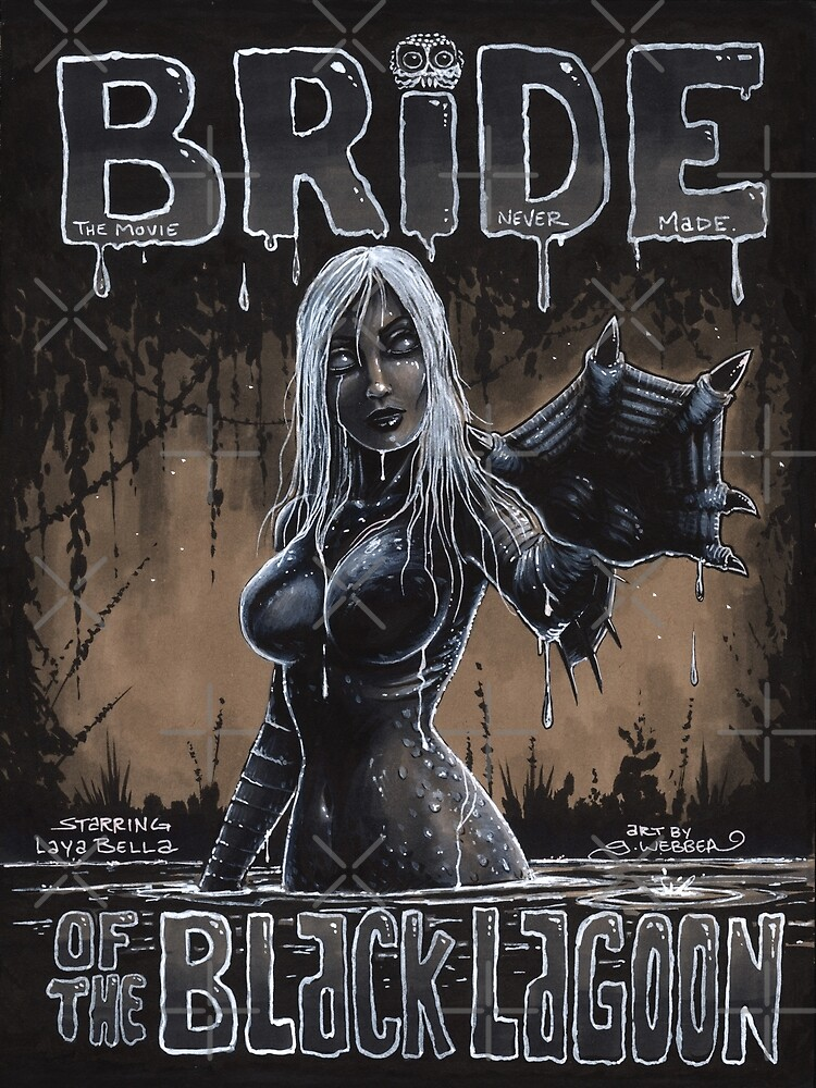 BRIDE OF THE BLACK LAGOON by gWebberArts