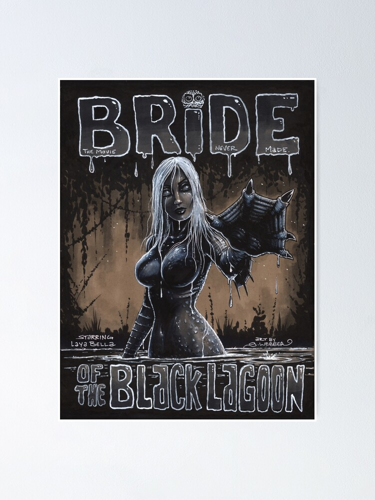 Alternate view of BRIDE OF THE BLACK LAGOON Poster