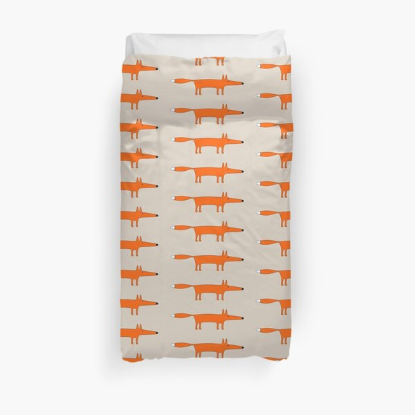 Mr Fox Duvet Cover