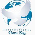 Internationales Tag des Friedens-Emblem. von devaleta