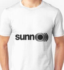 SUNN 0))) simple black & white Unisex T-Shirt