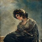 The Milkmaid of Bordeaux - Francisco Goya by themasters