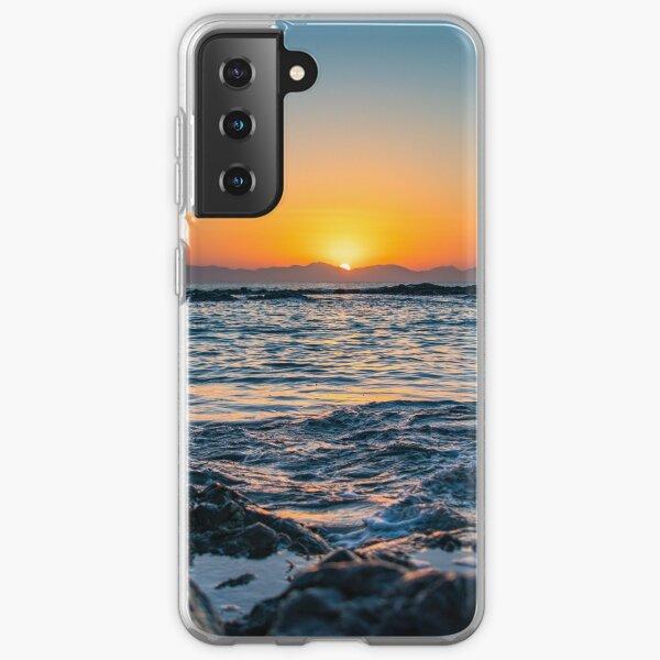 Dramatischer Sonnenaufgang Samsung Galaxy Flexible Hülle