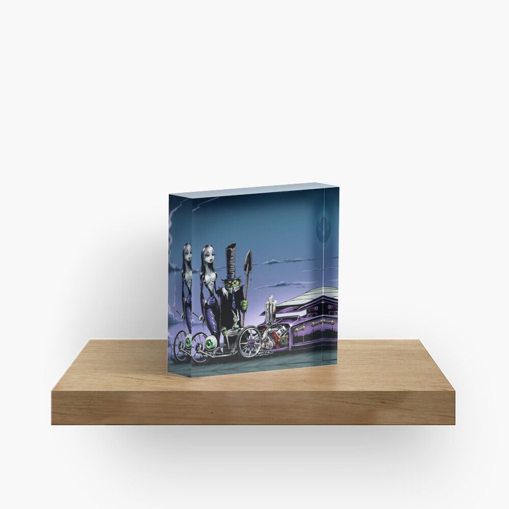 Coffin Nail Acrylic Block