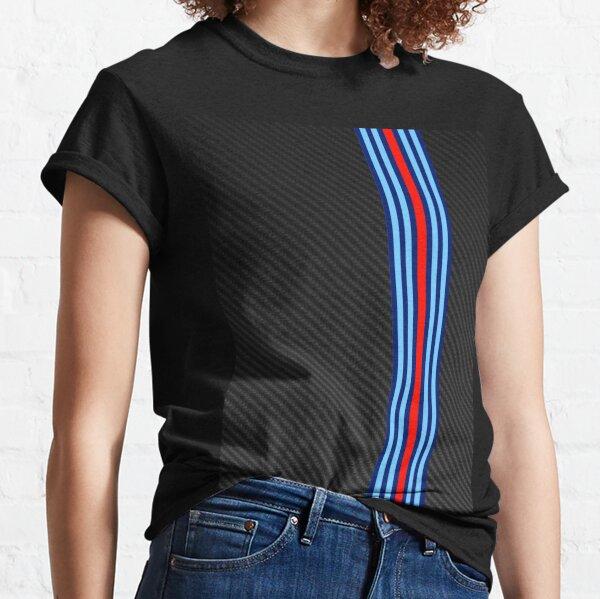 Carbon Fiber Racing Stripes 3 Classic T-Shirt