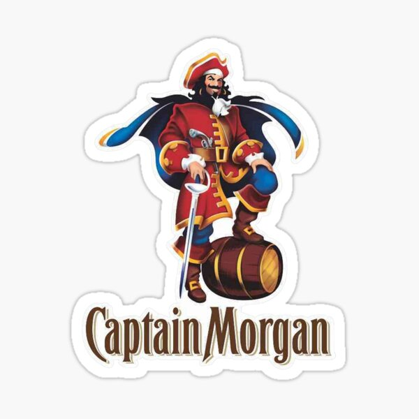 MORGAN PIRATE Sticker