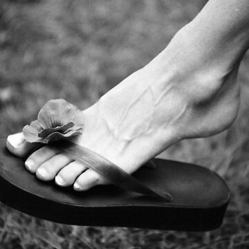 The foot and Flip Flop by JonGrundy