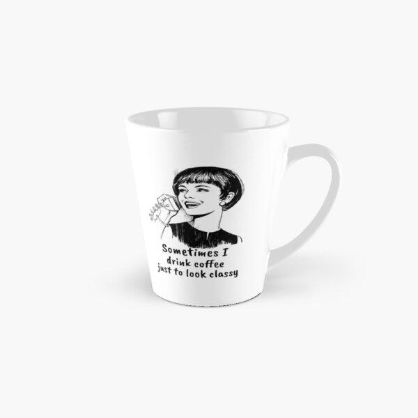 They Say Im Condescending Funny Tall Latte Tea or Coffee Mug