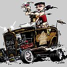 GIN MILL - Hot Rod by George Webber