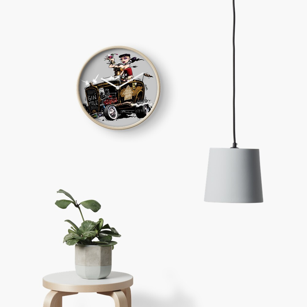 GIN MILL - Hot Rod Clock