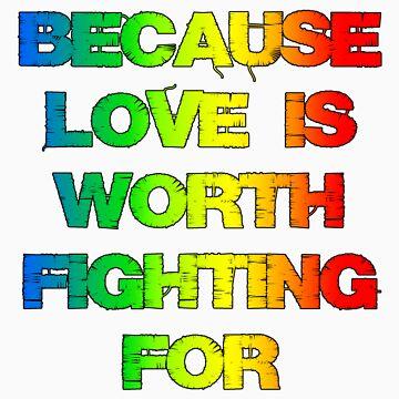 Gay Rights t shirt  by LaurenFinn