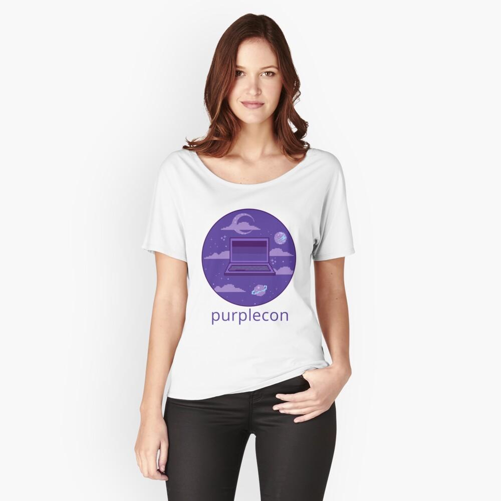 purplecon 2019 shirt b Relaxed Fit T-Shirt