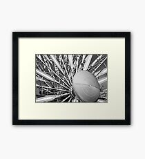 Patterns & Shapes Framed Print
