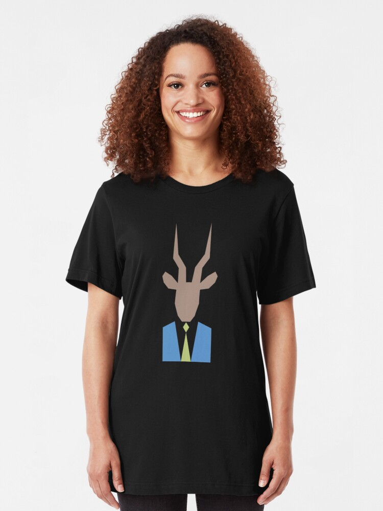 Alternate view of Well Dressed Gazelle Slim Fit T-Shirt