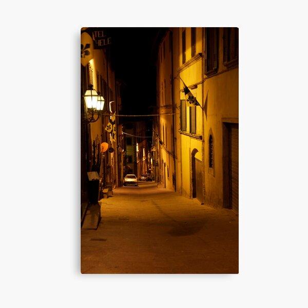 cityscapes #168, night light   Canvas Print