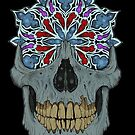 Stained Glass Skull by Jon MDC