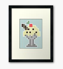 Vanilla Chocolate Chip Milkshake Framed Print