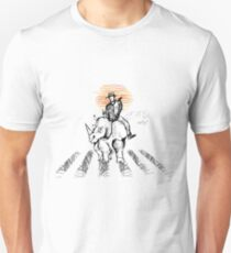 Pedestrian and Rhino Unisex T-Shirt