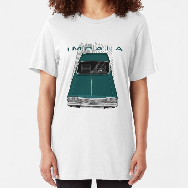 Shift Shirts Low and Slow Lowrider 64 Chevrolet Impala Inspired Unisex T-Shirt
