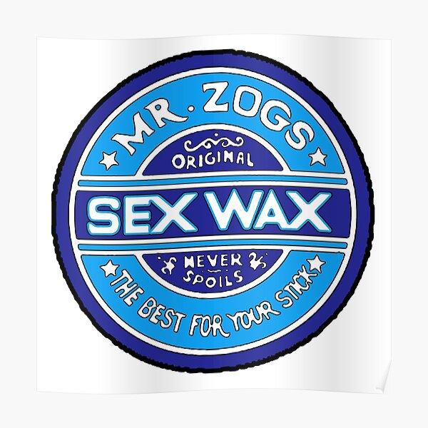 Mr Zogs Blue Poster