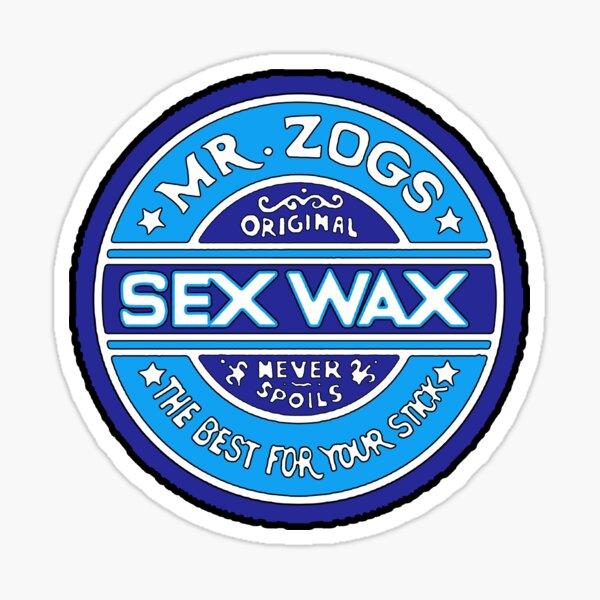 Mr Zogs Blue Sticker