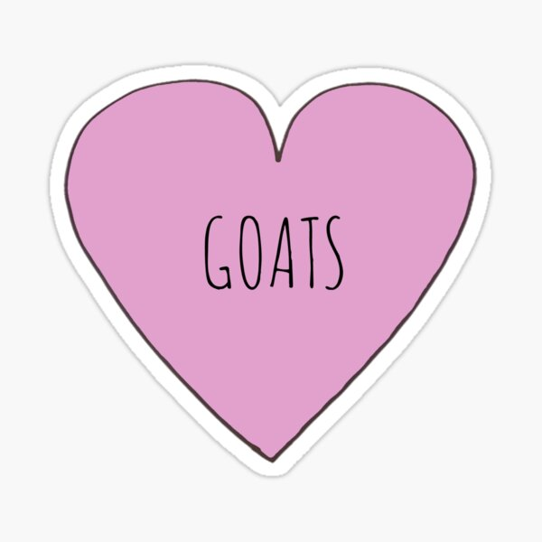 GOAT LOVE Sticker