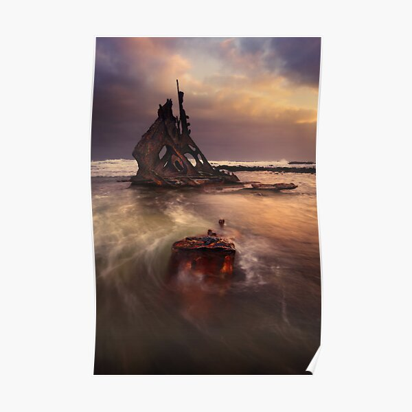Wreck of the SS. Speke Poster