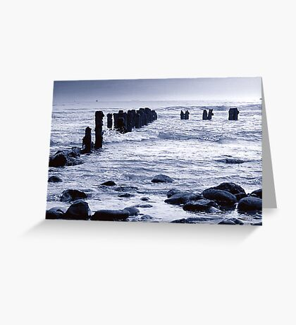 Incomming Tide Greeting Card